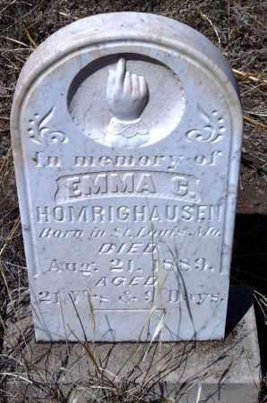 HOMRIGHAUSEN, EMMA CHARLOTTE - Apache County, Arizona | EMMA CHARLOTTE HOMRIGHAUSEN - Arizona Gravestone Photos