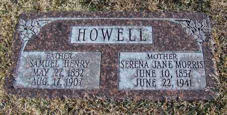 HOWELL, SERENA JANE - Apache County, Arizona | SERENA JANE HOWELL - Arizona Gravestone Photos