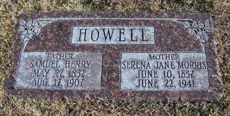 HOWELL, SERENA JANE - Apache County, Arizona | SERENA JANE HOWELL - Arizona Gravestone Photos