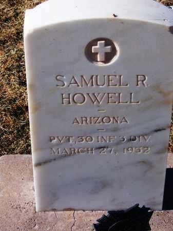 HOWELL, SAMUEL R - Apache County, Arizona | SAMUEL R HOWELL - Arizona Gravestone Photos