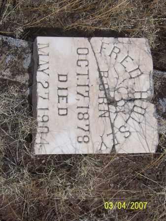 HULSEY, FRED - Apache County, Arizona | FRED HULSEY - Arizona Gravestone Photos