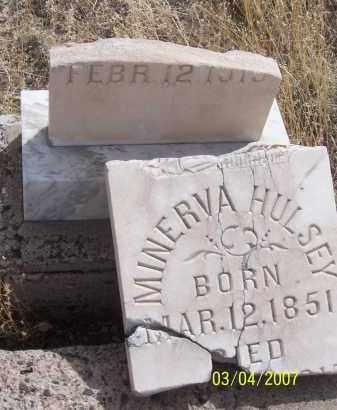 HULSEY, MINERVA - Apache County, Arizona   MINERVA HULSEY - Arizona Gravestone Photos