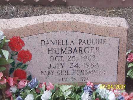 HUMBARGER, DANIELLA PAULINE - Apache County, Arizona | DANIELLA PAULINE HUMBARGER - Arizona Gravestone Photos