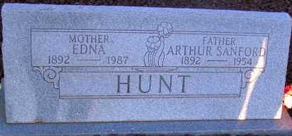 HUNT, EDNA - Apache County, Arizona | EDNA HUNT - Arizona Gravestone Photos