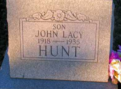 HUNT, JOHN LACY - Apache County, Arizona | JOHN LACY HUNT - Arizona Gravestone Photos