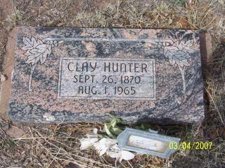 HUNTER, CLAY - Apache County, Arizona | CLAY HUNTER - Arizona Gravestone Photos