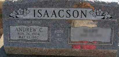ISAACSON, ANDREW C. - Apache County, Arizona   ANDREW C. ISAACSON - Arizona Gravestone Photos
