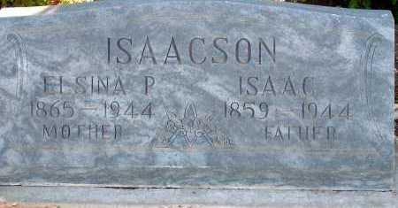ISAACSON, ELSINA P. - Apache County, Arizona | ELSINA P. ISAACSON - Arizona Gravestone Photos