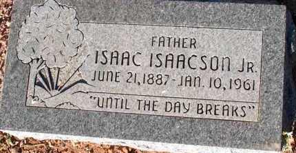 ISAACSON, ISAAC, JR. - Apache County, Arizona | ISAAC, JR. ISAACSON - Arizona Gravestone Photos