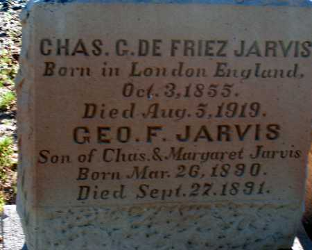 JARVIS, GEO. F. - Apache County, Arizona | GEO. F. JARVIS - Arizona Gravestone Photos