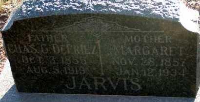 JARVIS, CHAS. G. DEFRIEZ - Apache County, Arizona | CHAS. G. DEFRIEZ JARVIS - Arizona Gravestone Photos