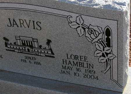 HAMBLIN JARVIS, LOREE - Apache County, Arizona | LOREE HAMBLIN JARVIS - Arizona Gravestone Photos