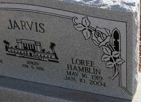 HAMBLIN JARVIS, LOREE - Apache County, Arizona | LOREE HAMBLIN JARVIS - Arizona Gravestone Photos