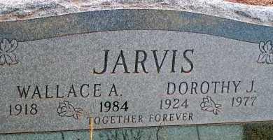 JARVIS, DOROTHY J. - Apache County, Arizona | DOROTHY J. JARVIS - Arizona Gravestone Photos