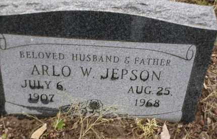 JEPSON, ARLO W. - Apache County, Arizona   ARLO W. JEPSON - Arizona Gravestone Photos