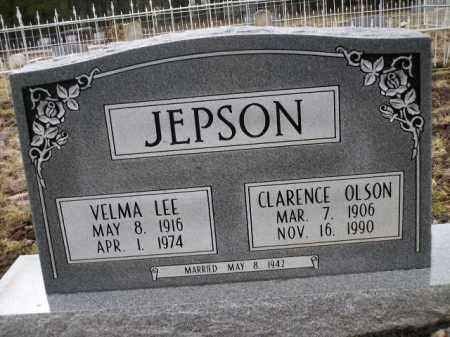 JEPSON, CLARENCE OLSON - Apache County, Arizona   CLARENCE OLSON JEPSON - Arizona Gravestone Photos