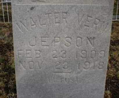 JEPSON, WALTER VERN - Apache County, Arizona | WALTER VERN JEPSON - Arizona Gravestone Photos