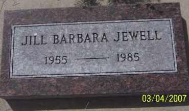 JEWELL, JILL BARBARA - Apache County, Arizona   JILL BARBARA JEWELL - Arizona Gravestone Photos