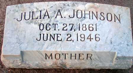 JOHNSON, JULIA A. - Apache County, Arizona | JULIA A. JOHNSON - Arizona Gravestone Photos