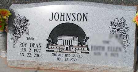 JOHNSON, ROY DEAN - Apache County, Arizona | ROY DEAN JOHNSON - Arizona Gravestone Photos