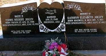 JOLLEY, FERRIS DELBERT - Apache County, Arizona | FERRIS DELBERT JOLLEY - Arizona Gravestone Photos