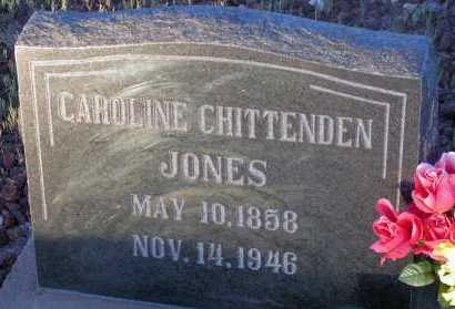 JONES, CAROLINE - Apache County, Arizona | CAROLINE JONES - Arizona Gravestone Photos