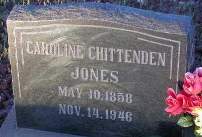 JONES, CAROLINE - Apache County, Arizona | CAROLINE JONES - Arizona Gravestone Photos