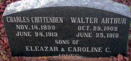 JONES, WALTER ARTHUR - Apache County, Arizona | WALTER ARTHUR JONES - Arizona Gravestone Photos