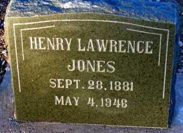 JONES, HENRY LAWRENCE - Apache County, Arizona | HENRY LAWRENCE JONES - Arizona Gravestone Photos