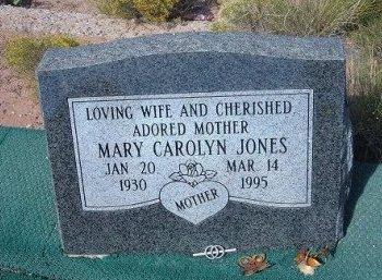 JONES, MARY CAROLYN - Apache County, Arizona | MARY CAROLYN JONES - Arizona Gravestone Photos