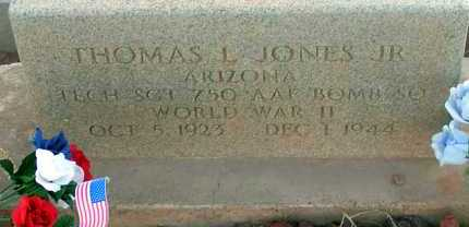 JONES, THOMAS L., JR. - Apache County, Arizona | THOMAS L., JR. JONES - Arizona Gravestone Photos