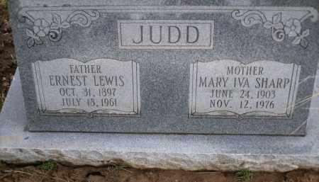 JUDD, ERNEST LEWIS - Apache County, Arizona | ERNEST LEWIS JUDD - Arizona Gravestone Photos
