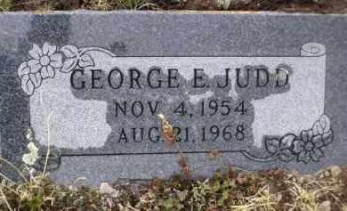 JUDD, GEORGE E. - Apache County, Arizona   GEORGE E. JUDD - Arizona Gravestone Photos