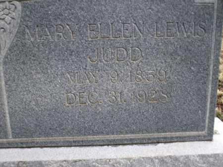 LEWIS JUDD, MARY ELLEN - Apache County, Arizona | MARY ELLEN LEWIS JUDD - Arizona Gravestone Photos