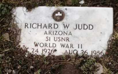 JUDD, RICHARD W. - Apache County, Arizona   RICHARD W. JUDD - Arizona Gravestone Photos