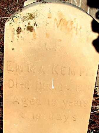 KEMPE, EMMA - Apache County, Arizona   EMMA KEMPE - Arizona Gravestone Photos