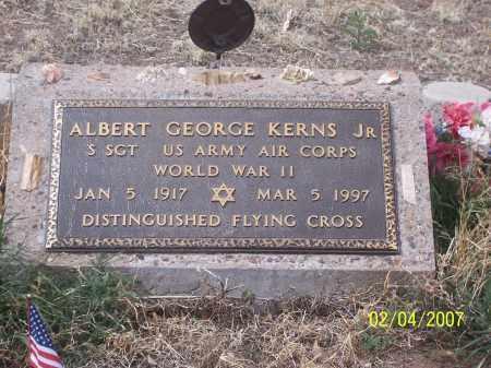 KERNS, ALBERT GEORGE JR - Apache County, Arizona | ALBERT GEORGE JR KERNS - Arizona Gravestone Photos