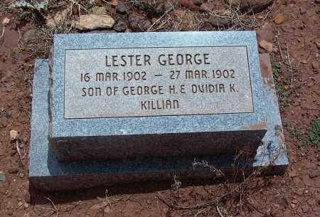 KILLIAN, LESTER GEORGE - Apache County, Arizona | LESTER GEORGE KILLIAN - Arizona Gravestone Photos