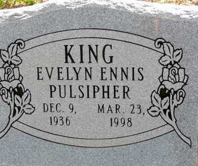 PULSIPHER KING, EVELYN ENNIS - Apache County, Arizona | EVELYN ENNIS PULSIPHER KING - Arizona Gravestone Photos