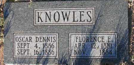 KNOWLES, OSCAR DENNIS - Apache County, Arizona | OSCAR DENNIS KNOWLES - Arizona Gravestone Photos