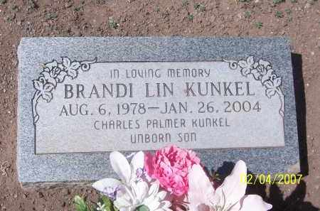 KUNKEL, BRANDI LIN - Apache County, Arizona   BRANDI LIN KUNKEL - Arizona Gravestone Photos