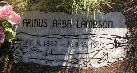 LAMBSON, ARMUS ARBA - Apache County, Arizona | ARMUS ARBA LAMBSON - Arizona Gravestone Photos