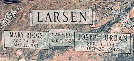 LARSEN, JOSEPH URBAN - Apache County, Arizona | JOSEPH URBAN LARSEN - Arizona Gravestone Photos