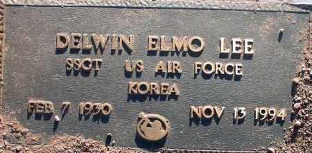 LEE, DELWIN ELMO - Apache County, Arizona | DELWIN ELMO LEE - Arizona Gravestone Photos