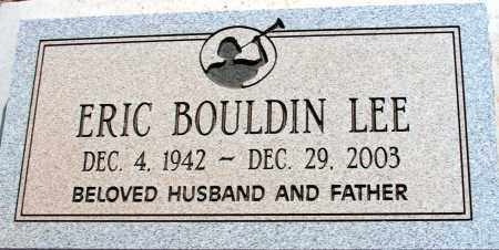 LEE, ERIC BOULDIN - Apache County, Arizona | ERIC BOULDIN LEE - Arizona Gravestone Photos