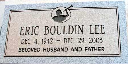 LEE, ERIC BOULDIN - Apache County, Arizona   ERIC BOULDIN LEE - Arizona Gravestone Photos