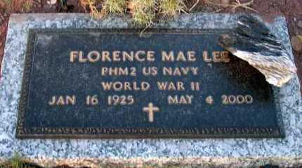 LEE, FLORENCE MAE - Apache County, Arizona | FLORENCE MAE LEE - Arizona Gravestone Photos