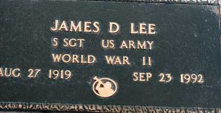LEE, JAMES D - Apache County, Arizona | JAMES D LEE - Arizona Gravestone Photos