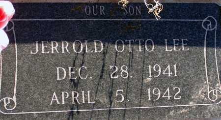 LEE, JERROLD OTTO - Apache County, Arizona   JERROLD OTTO LEE - Arizona Gravestone Photos