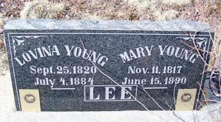 YOUNG LEE, MARY - Apache County, Arizona | MARY YOUNG LEE - Arizona Gravestone Photos